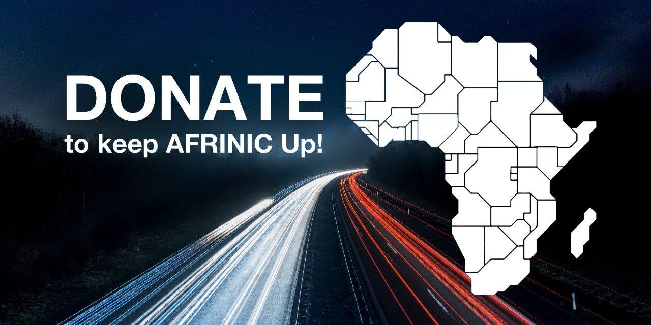 FUNDRAISING FOR AFRINIC